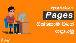 website privacy policy pages in sinhala sri lanka